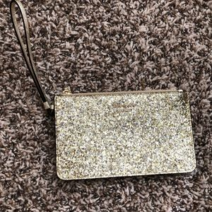 Kate Spade slim bee glitter bug gold/silver